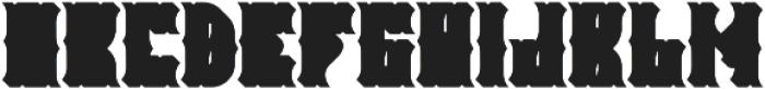 Falchion Edge Shadow B otf (400) Font LOWERCASE