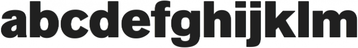 Faldore Black ttf (900) Font LOWERCASE