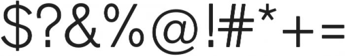 Faldore Light otf (300) Font OTHER CHARS