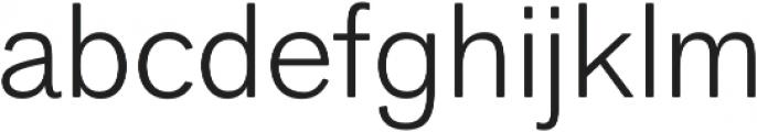 Faldore Light otf (300) Font LOWERCASE