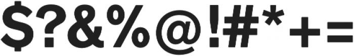 Faldore otf (700) Font OTHER CHARS
