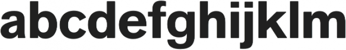 Faldore otf (700) Font LOWERCASE