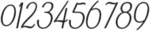 Falkin Sans Italic otf (400) Font OTHER CHARS
