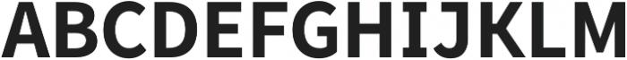 Famba otf (700) Font UPPERCASE