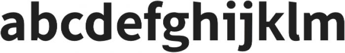 Famba otf (700) Font LOWERCASE