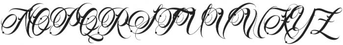Familia Regular otf (400) Font UPPERCASE