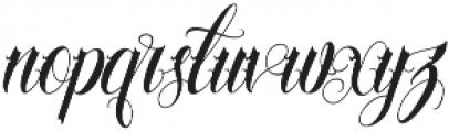 Familia Regular otf (400) Font LOWERCASE