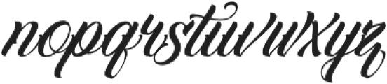 Familia Script otf (400) Font LOWERCASE