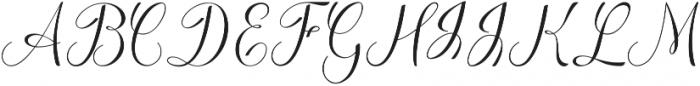Familiar ttf (400) Font UPPERCASE