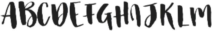 Famous Bristol Display otf (400) Font LOWERCASE