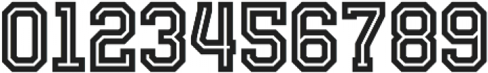 Fanatix Inline otf (400) Font OTHER CHARS