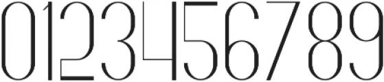 Fancy Light otf (300) Font OTHER CHARS