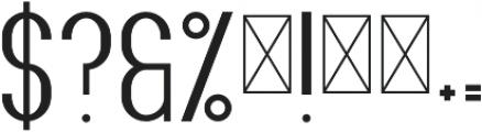 Fancy2 Bold otf (700) Font OTHER CHARS
