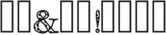 FancyPantsDots ttf (400) Font OTHER CHARS