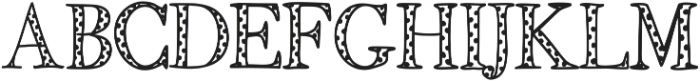 FancyPantsDots ttf (400) Font UPPERCASE