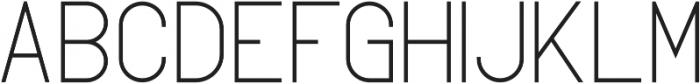 FancySans Regular otf (400) Font UPPERCASE