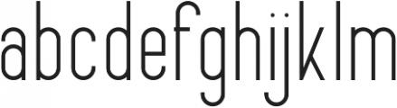 FancySans Regular otf (400) Font LOWERCASE