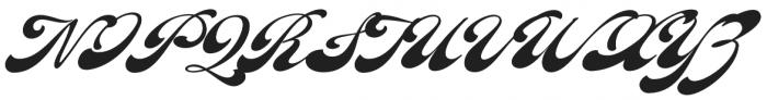 Fantera Regular otf (400) Font UPPERCASE