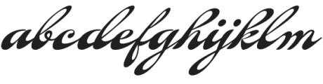 Fantera Regular otf (400) Font LOWERCASE