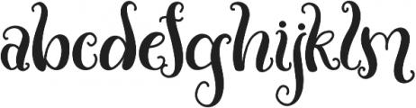 Fantomica otf (400) Font LOWERCASE