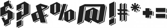 Farisea Dark otf (400) Font OTHER CHARS