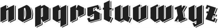 Farisea Dark otf (400) Font LOWERCASE