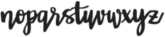 Farmhouse Dreams Script otf (400) Font LOWERCASE
