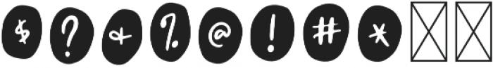 Farmland Circles Regular otf (400) Font OTHER CHARS