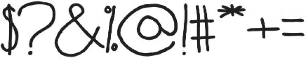 Fartlek Sans Bold otf (700) Font OTHER CHARS