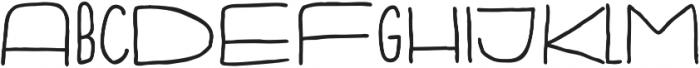 Fartlek Sans Bold otf (700) Font LOWERCASE
