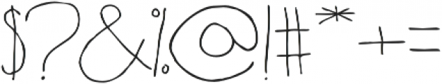 Fartlek Sans Regular otf (400) Font OTHER CHARS