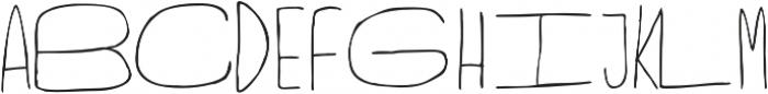 Fartlek Sans Regular otf (400) Font UPPERCASE