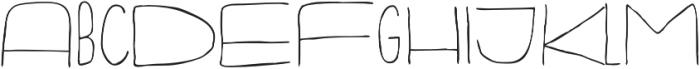 Fartlek Sans Regular otf (400) Font LOWERCASE