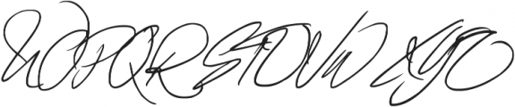 Fascinating Signature otf (400) Font UPPERCASE