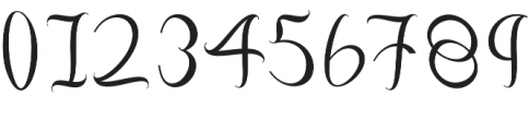 Fashion Regular otf (400) Font OTHER CHARS