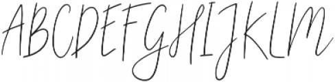 Fashion Style otf (400) Font UPPERCASE
