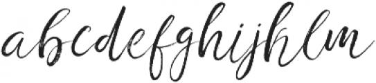 Fashion society 2nd otf (400) Font LOWERCASE
