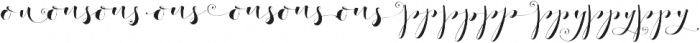 Fashionista Black Alt 2 Regular otf (900) Font LOWERCASE