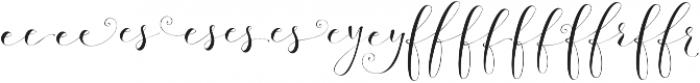 Fashionista Left 2 Regular otf (400) Font UPPERCASE