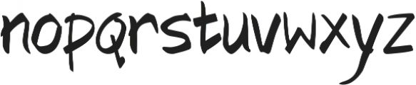 Fashionista ttf (400) Font LOWERCASE