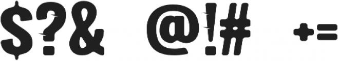 Fast Track Regular otf (400) Font OTHER CHARS