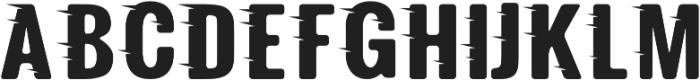 Fast Track Regular otf (400) Font LOWERCASE