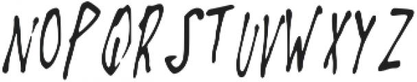 Fast_Blabber ttf (400) Font UPPERCASE