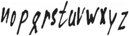 Fast_Blabber ttf (400) Font LOWERCASE