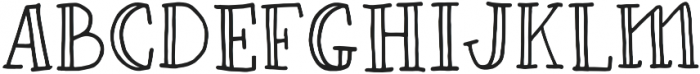 Fastback Bold otf (700) Font UPPERCASE