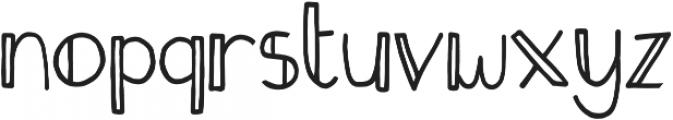 Fastback Bold otf (700) Font LOWERCASE