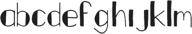 Fastback Filled otf (400) Font LOWERCASE