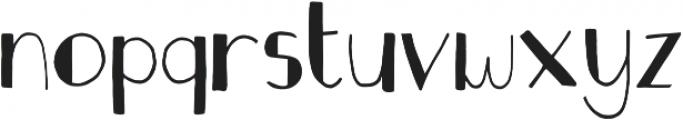 Fastback Filled otf (400) Font LOWERCASE