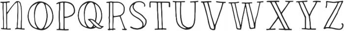 Fastback otf (400) Font UPPERCASE