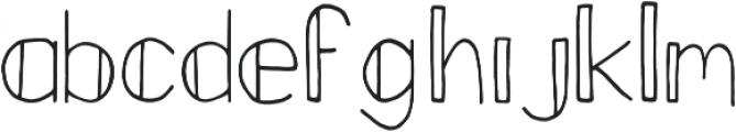 Fastback otf (400) Font LOWERCASE